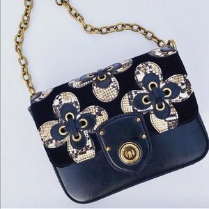 New Ralph Lauren Retro Inspired Black Purse